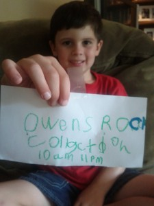 Owen's Rock Collection