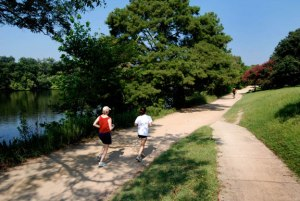 Hike & Bike Trail at Lady Bird Lake